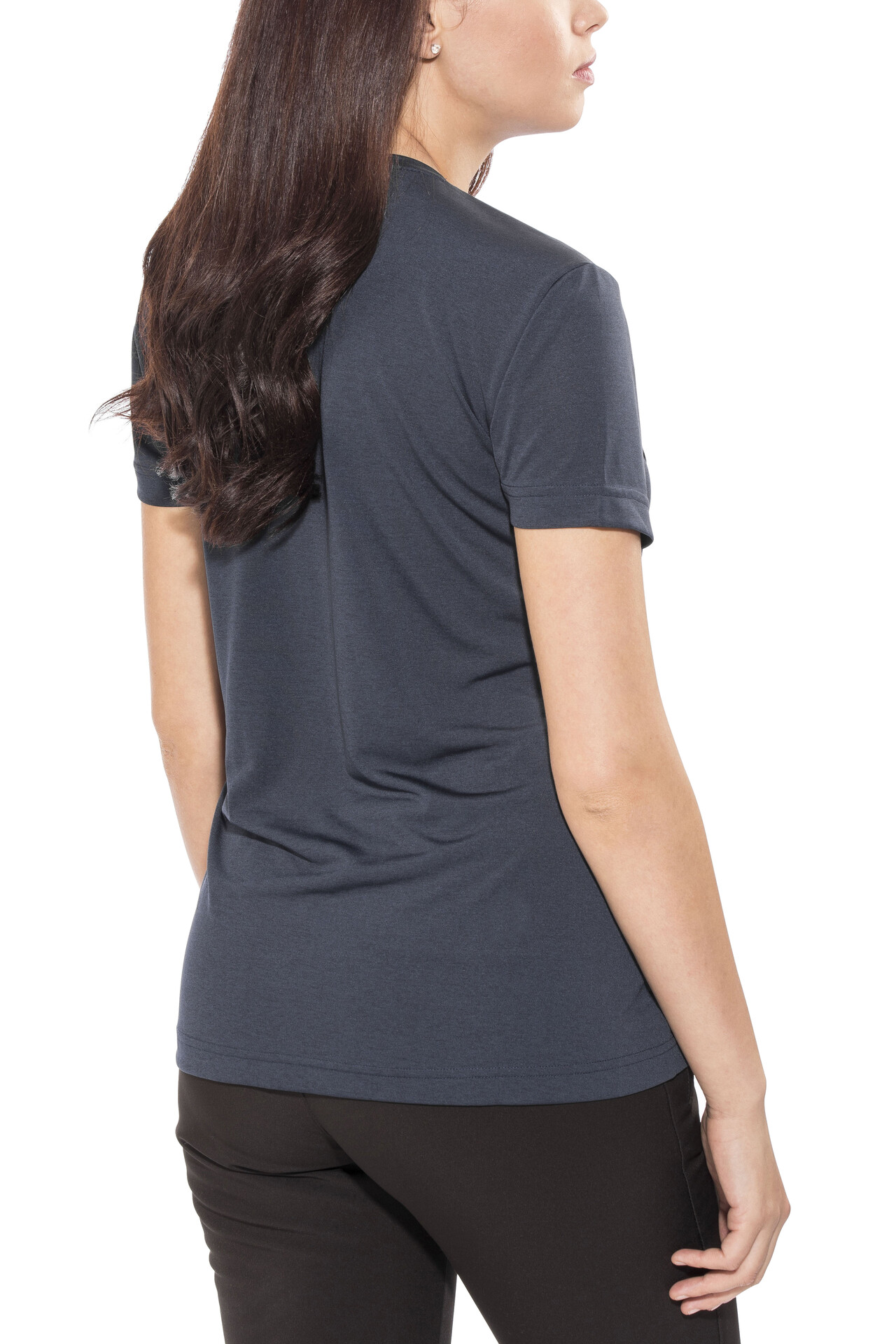 jack wolfskin regular outdoor shirt crosstrail dames